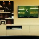Custom floating wall unit